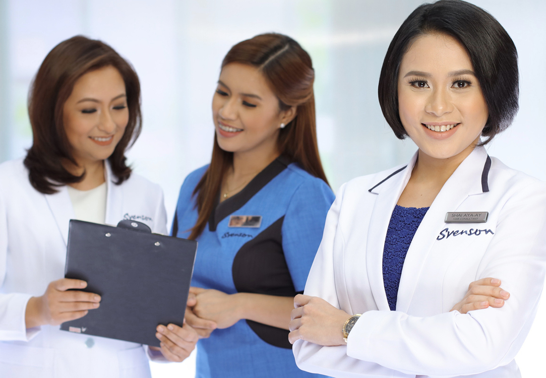 Svenson hair experts and consultants