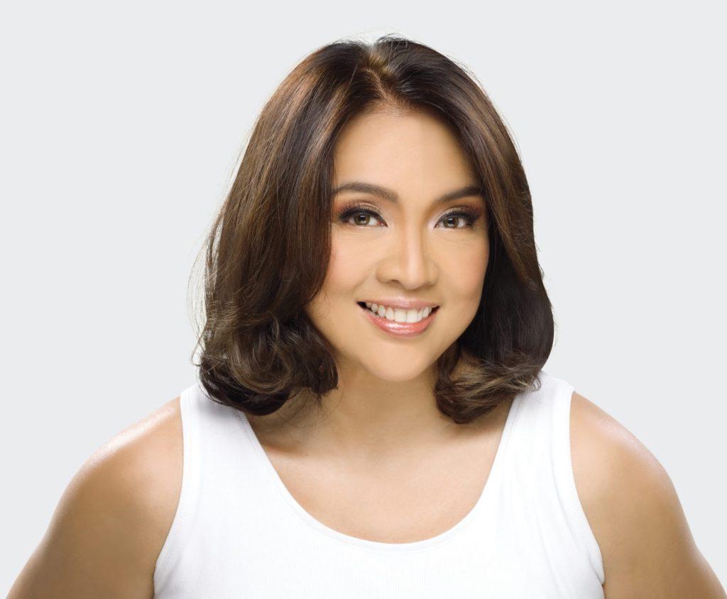 Cheryl Cosim with healthy hair