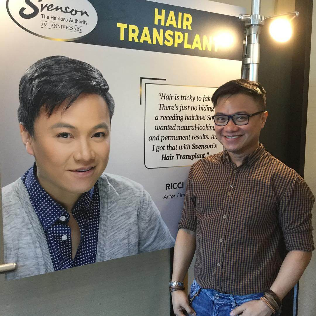 Ricci Chan with his Svenson poster