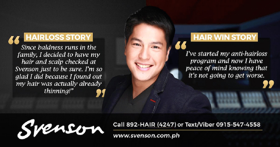 client talking treatment with Svenson